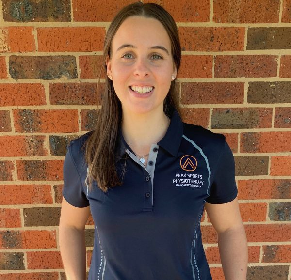 Abby Rickard Physiotherapist Peak Sports Physiotherapy
